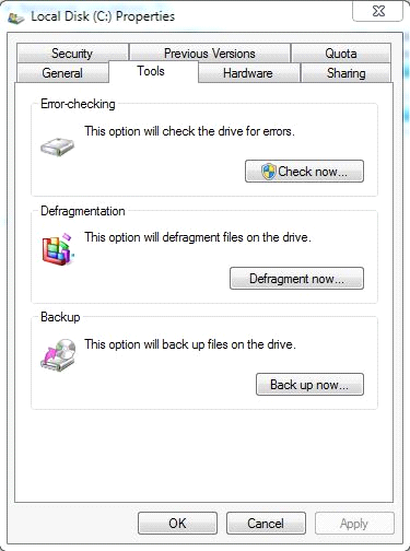 Defrag Drive Files