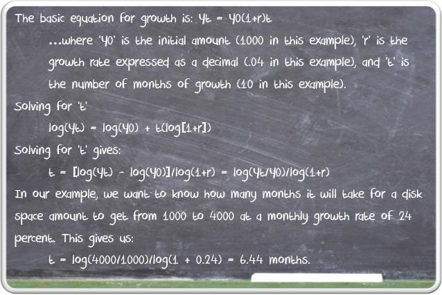 Formula for Percentage Growth
