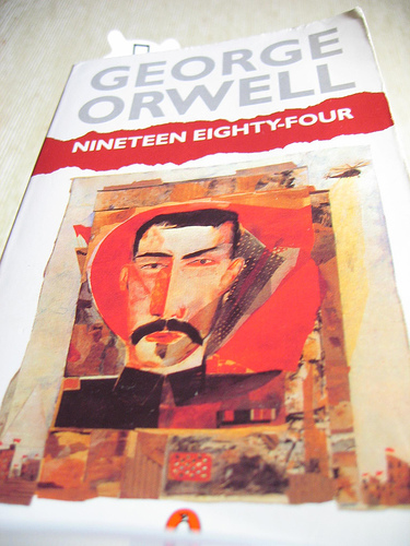 the important developments in 1984 by george orwell