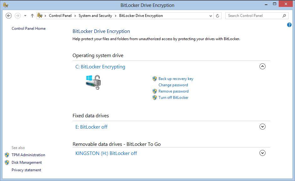 Encrypting Your Hard Drive Using BitLocker Drive ...