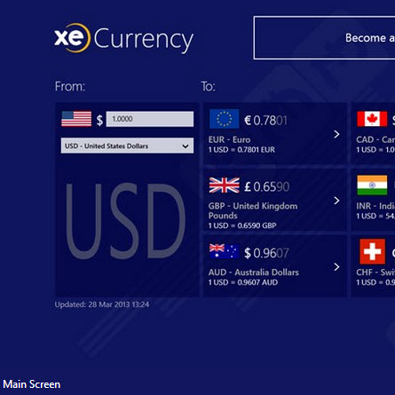 Xe trade currency