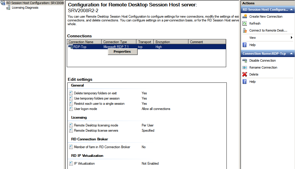 Deploying terminal services network wrangler tech blog - Remote desktop console mode ...