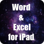 Word and Excel for iPad