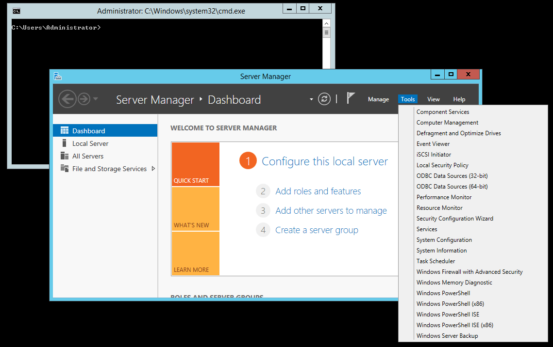 Converting A Windows Server With Gui To Server Core And