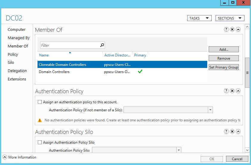 Cloning a Windows Server 2012 DC | Network Wrangler - Tech Blog
