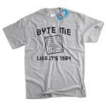 Byte Me Like Its 1984 Tshirt