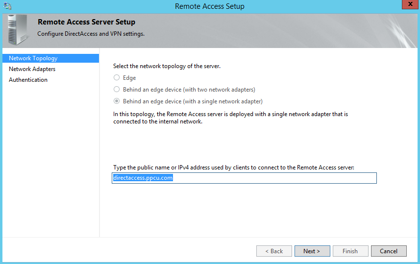 Installing and configuring DirectAccess in Windows Server 2012-Part 2-1