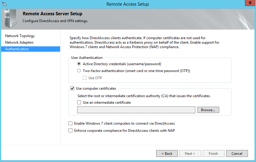 Installing and configuring DirectAccess in Windows Server 2012-Part 2-2