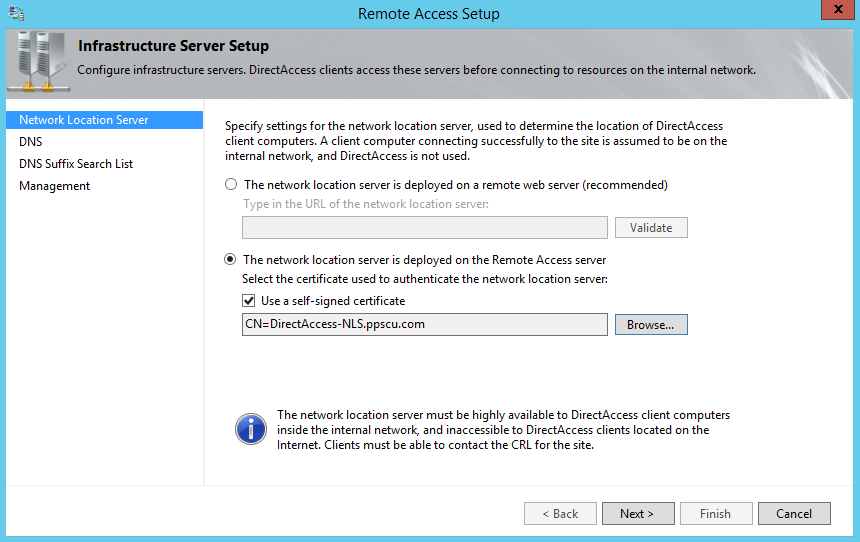 Installing and configuring DirectAccess in Windows Server 2012-Part 2-4