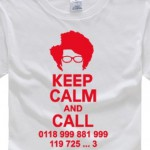 Moss - Keep Calm and Call - IT Crowd Tshirt
