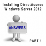 Installing and Configuring Direct Access-feature