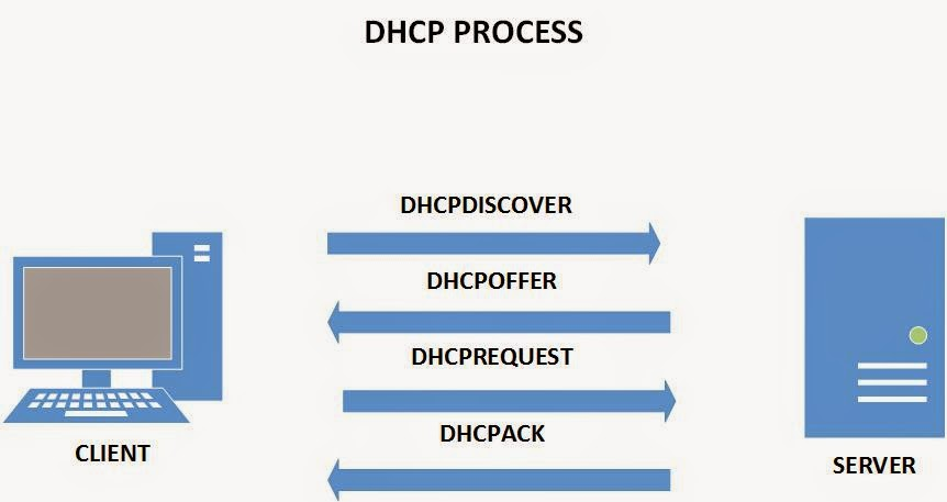 dhcp protocol steps