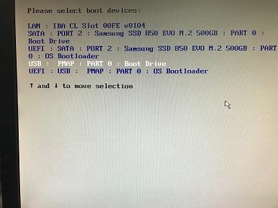 Installing VSphere Hypervisor (VMWare ESXi 6 5) on an Intel