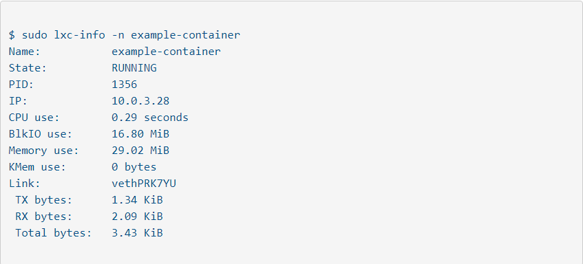 Best Practices for Configuring Linux Containers | Network