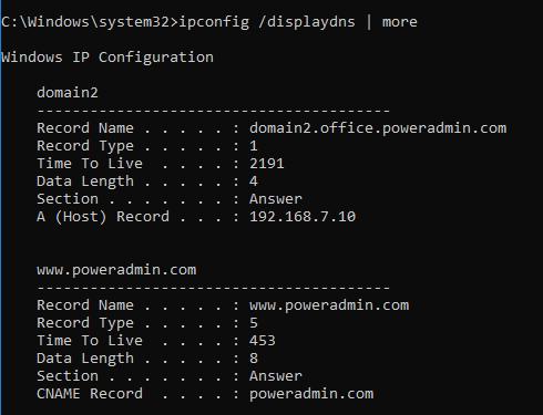 Ping and the Windows DNS Cache | Network Wrangler - Tech Blog