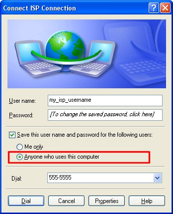 how to delete internet connection windows xp