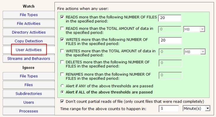 PA File Sight Information Leak Detection
