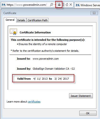 PA Server Monitor Documentation - How to Monitor SSL Certificate ...
